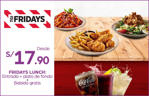 FRIDAYS-LUNCH